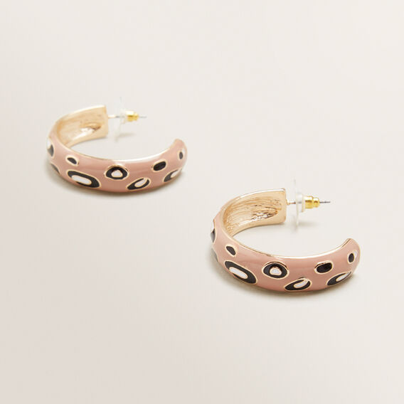 Leopard Hoops  ANIMAL  hi-res