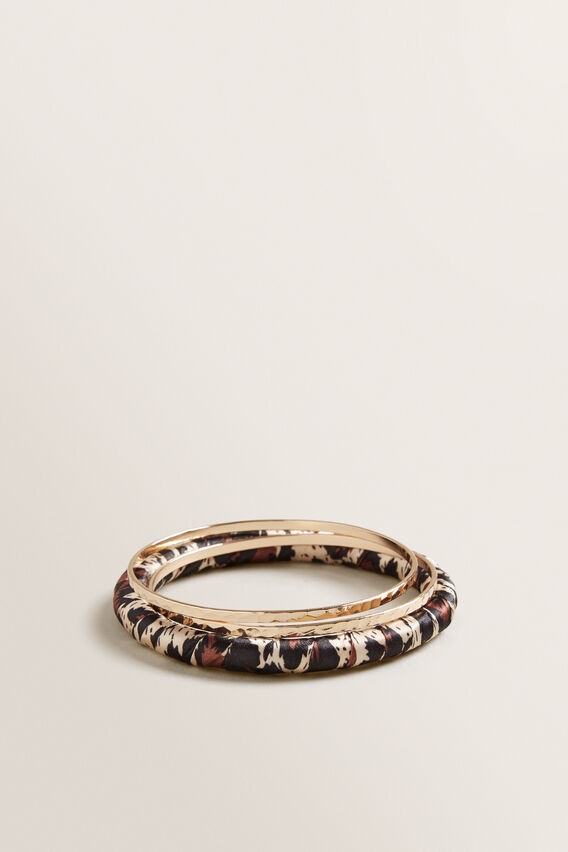 Wrapped Bangle Set  OCELOT  hi-res