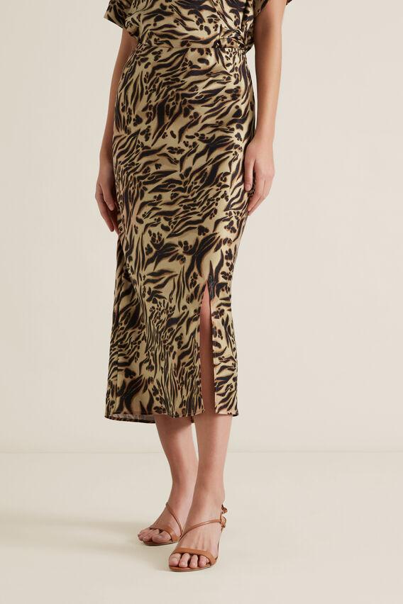 Front Split Skirt  ANIMAL  hi-res