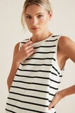 Rugby Tank Dress  BLACK STRIPE  hi-res