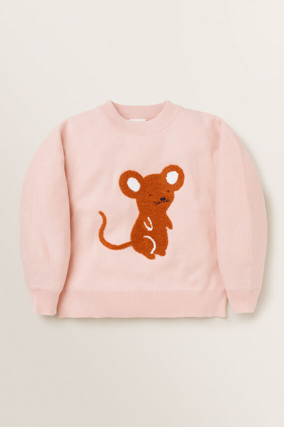 Mouse Sweater  DUSTY ROSE  hi-res