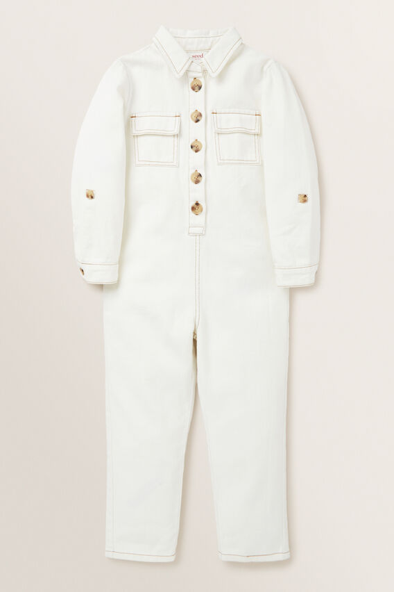 Boiler Suit  CREAM  hi-res