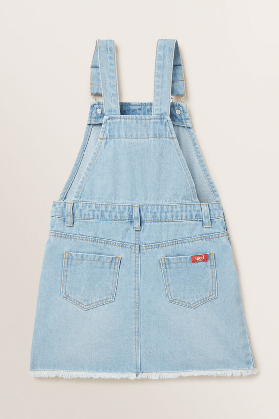 Sequin Denim Pinafore  CLASSIC BLUE  hi-res