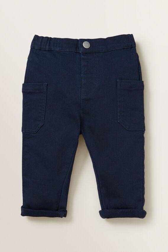 Knit Denim Chino Pant  MIDNIGHT BLUE  hi-res