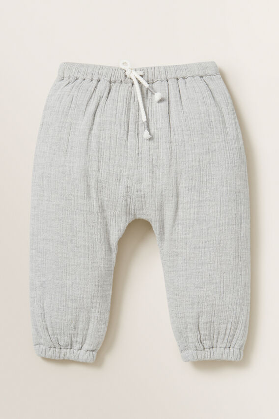Cheesecloth Pant  GREY  hi-res