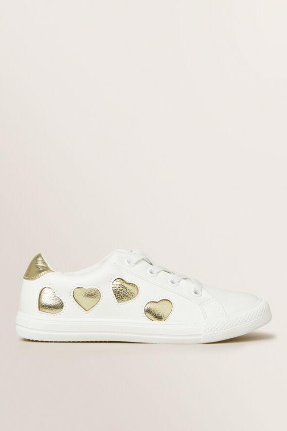 White Heart Trainer  WHITE  hi-res