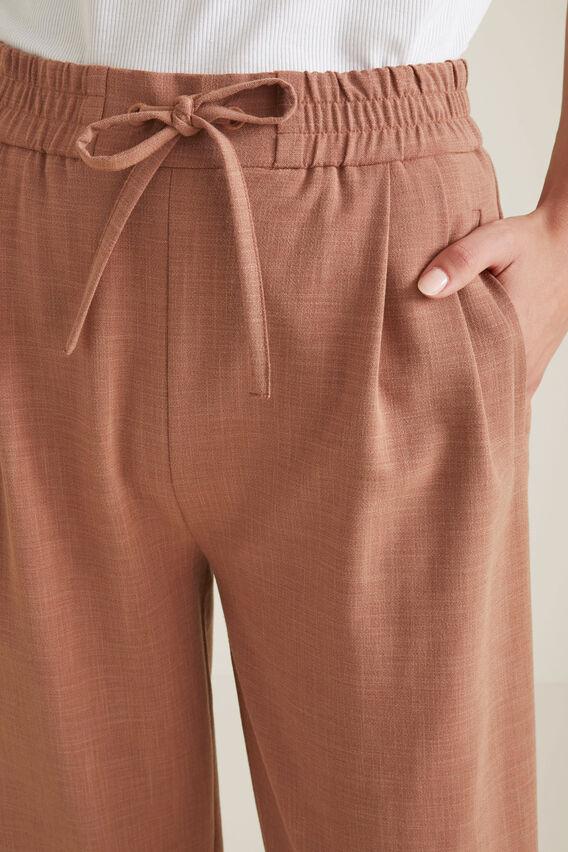Tuck Detail Pant  RED DESERT  hi-res