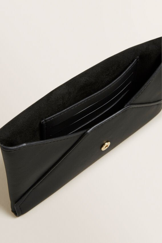 Envelope Clutch  BLACK  hi-res