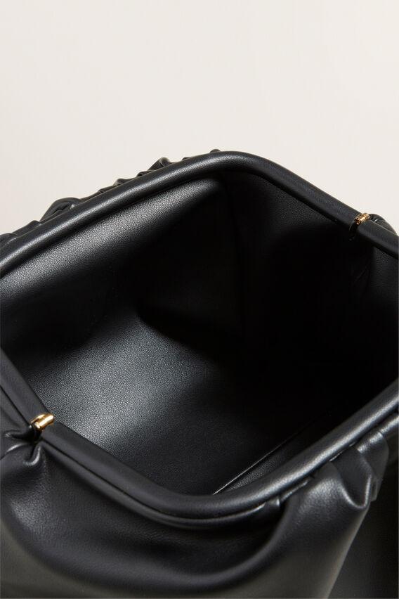 Soft Pouch Clutch  BLACK  hi-res