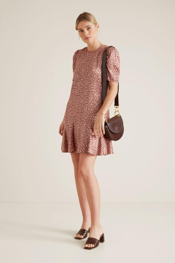 Printed Mini Dress  OCELOT  hi-res