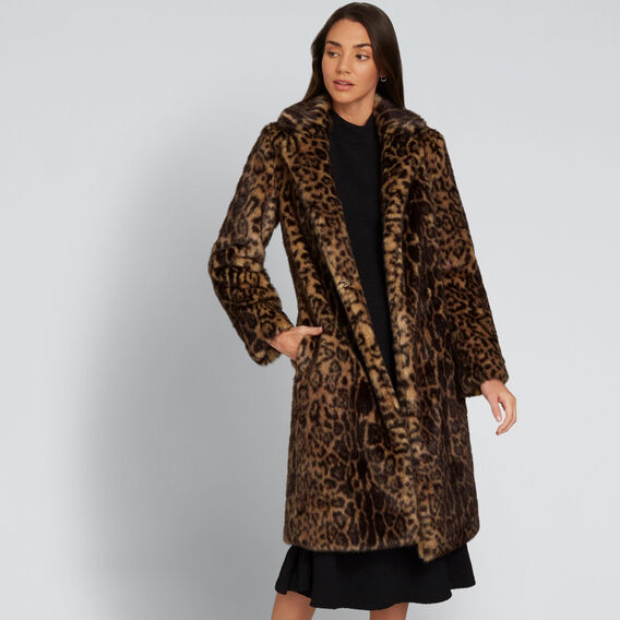 Animal Coat  ANIMAL PRINT  hi-res