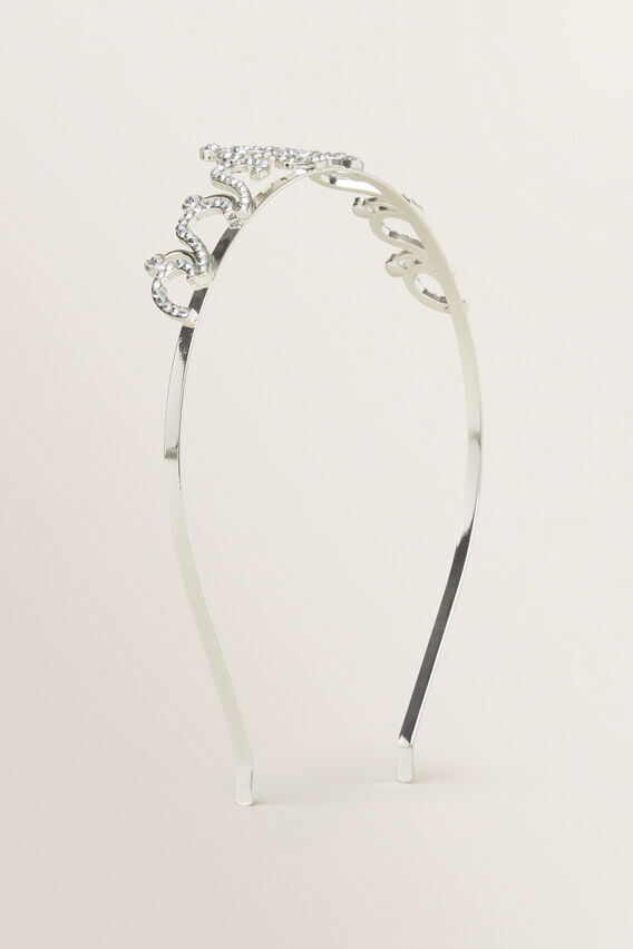 Butterfly Tiara  SILVER  hi-res