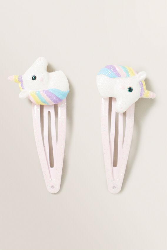 Unicorn Snap Pair  MULTI  hi-res