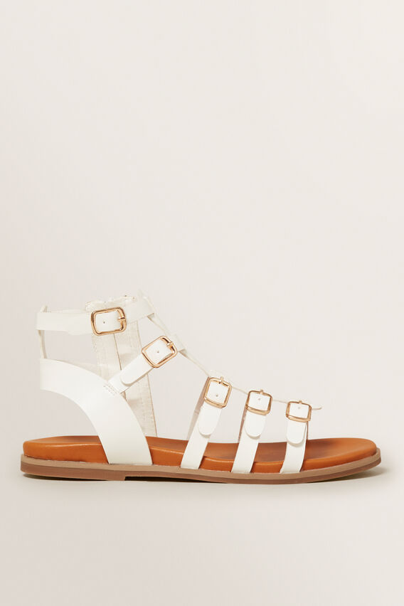 Gladiator Sandals  WHITE  hi-res