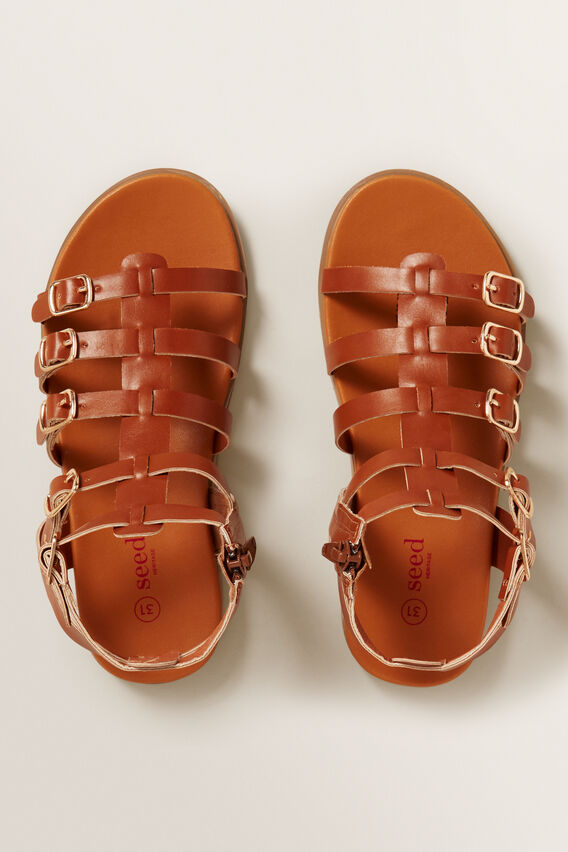 Gladiator Sandals  TAN  hi-res