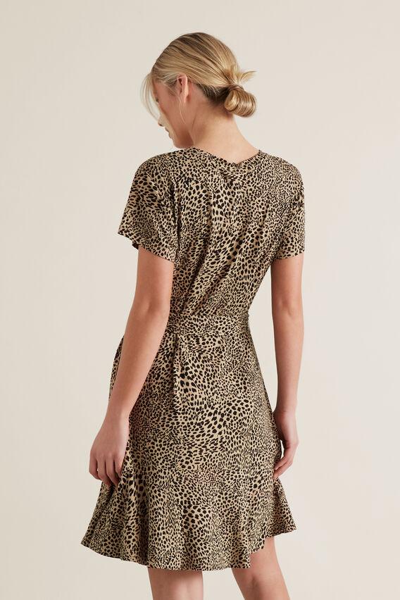 Mini Ocelot Print Dress  OCELOT  hi-res