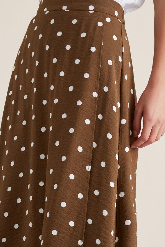 Wrap Spotty Skirt  SPOT  hi-res