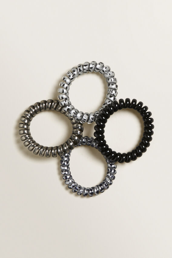 Hair Coil Pack  BLACK  hi-res