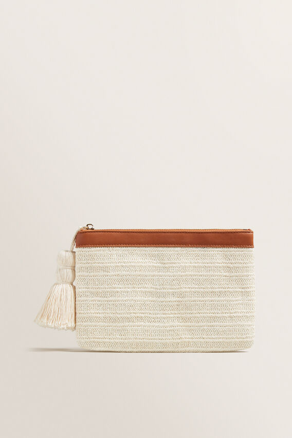 Tassel Pouch  CREAM  hi-res