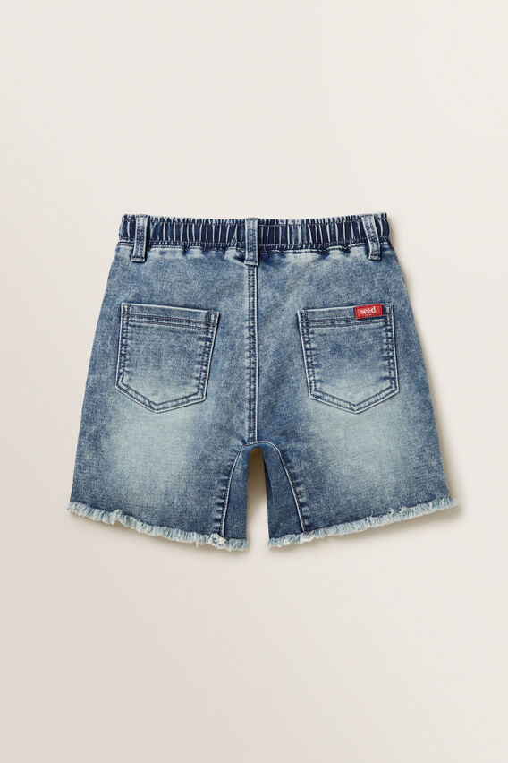 Denim Terry Short  ACID BLUE  hi-res