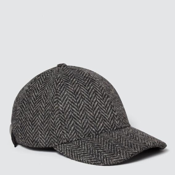 Check Cap  BLACK/CREAM  hi-res