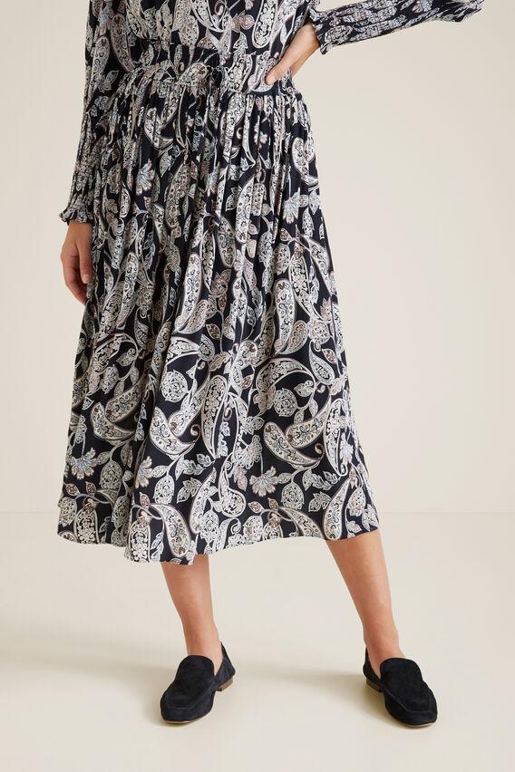 Paisley Skirt  IRIS PAISLEY  hi-res