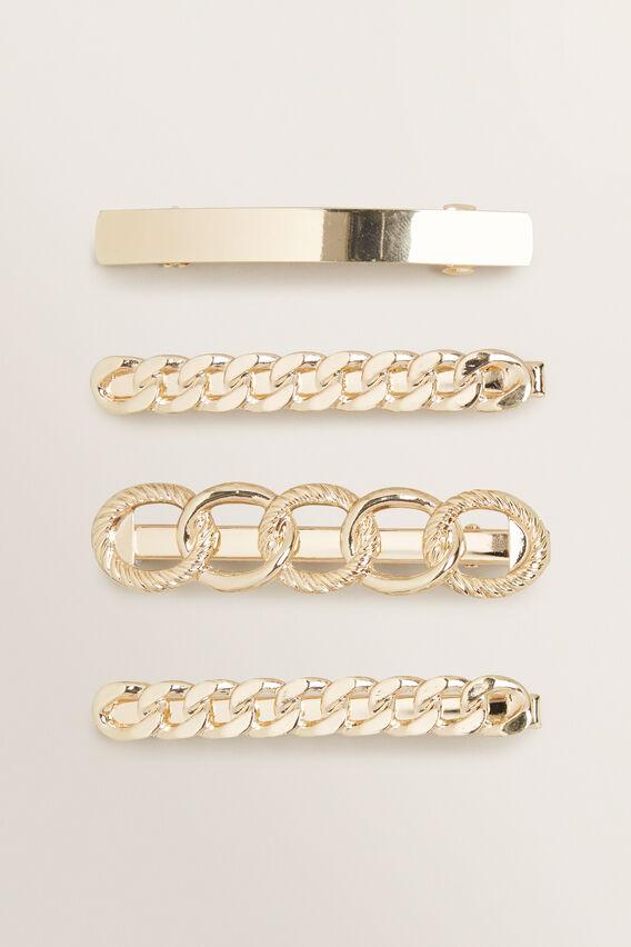 Multi Chain Clip Pack  GOLD  hi-res
