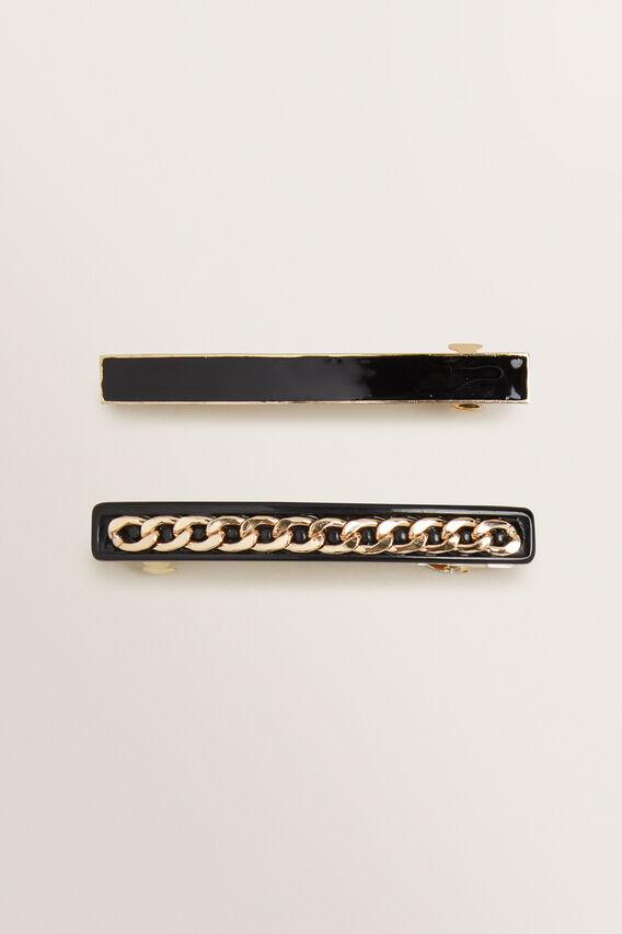 Double Slide Pack  BLACK  hi-res