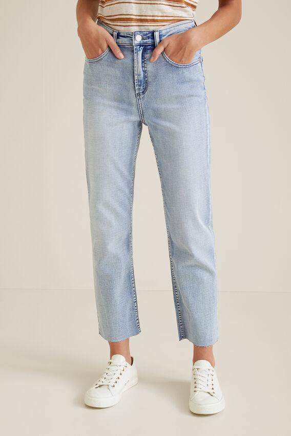 Core Straight Leg Jean  LIGHT SKY DENIM  hi-res