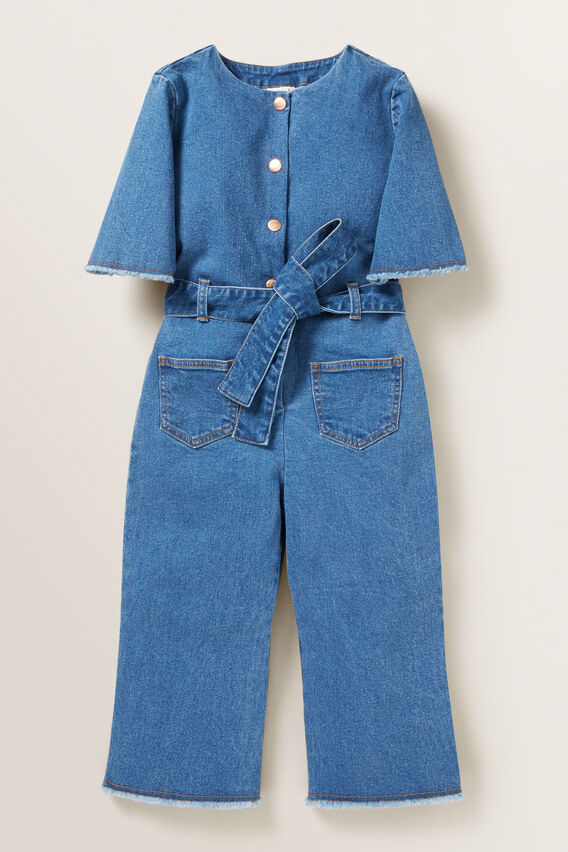 Denim Jumpsuit  CLASSIC BLUE  hi-res