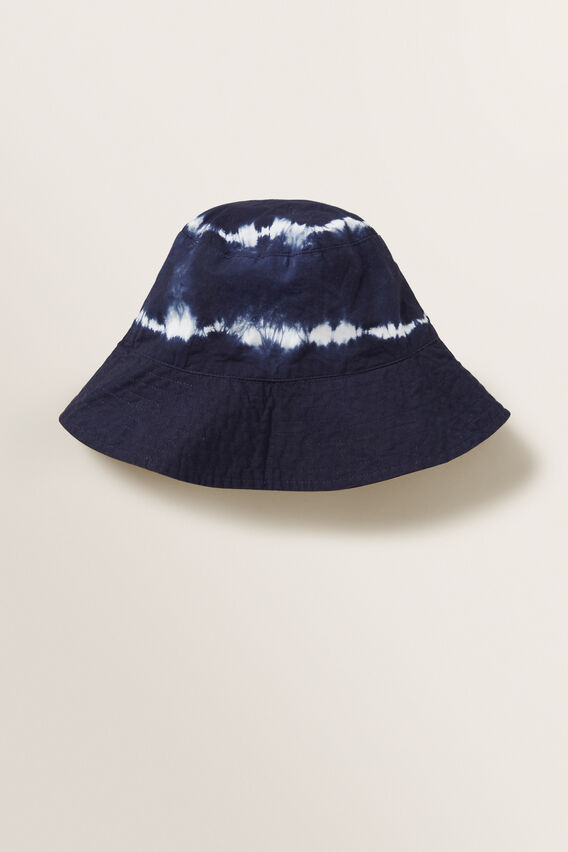 Tie Dye Sun Hat  MIDNIGHT BLUE  hi-res