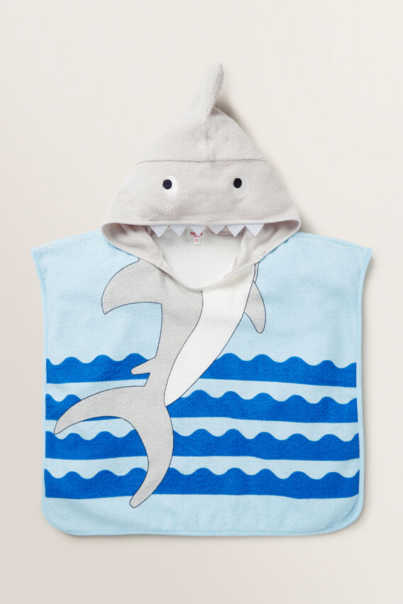 Shark Poncho  MULTI  hi-res