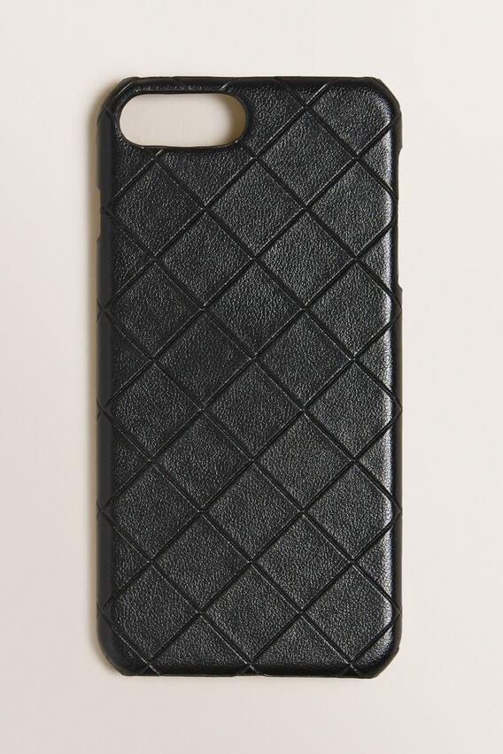 iPhone Case 6/7/8 +  BLACK TEXTURED  hi-res