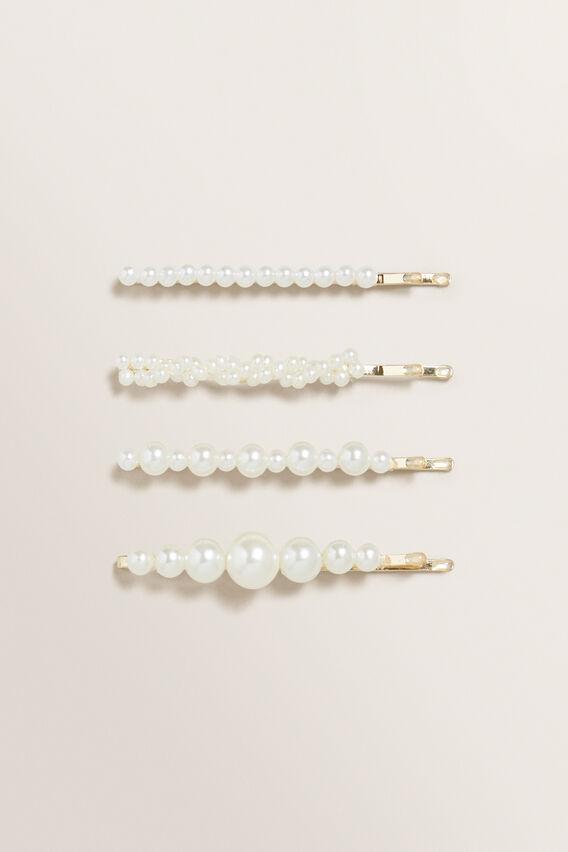 Pearl Hair Pin Pack  PEARL  hi-res