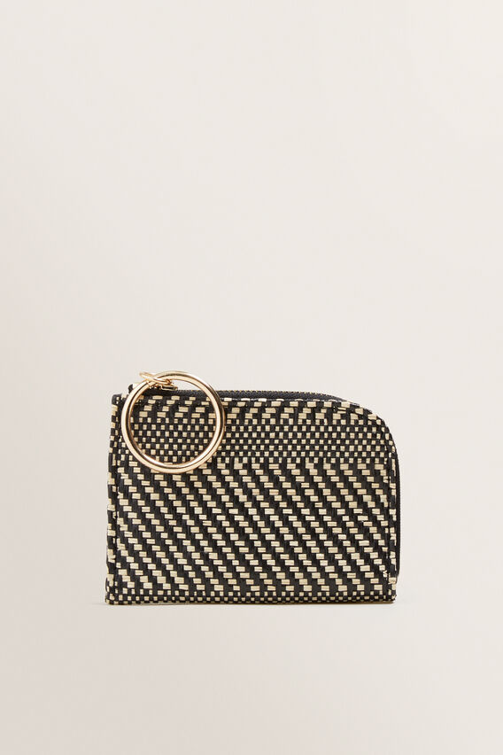 Mini Nico Pouch  BLACK/NATURAL  hi-res