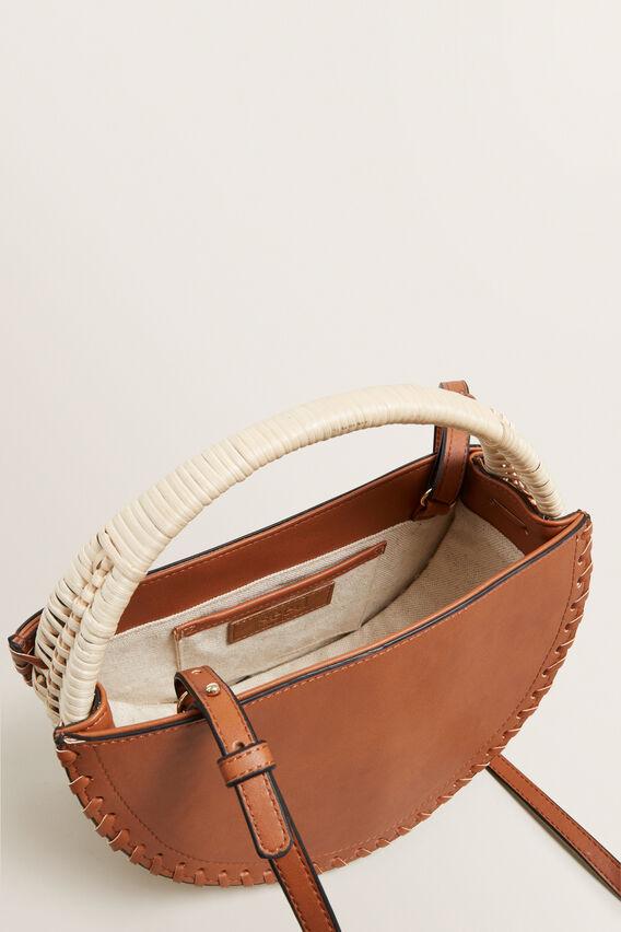 Rattan Basket  NATURAL/ TAN  hi-res