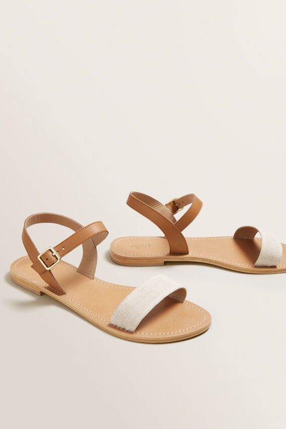 Alana Leather Sandal  TAN  hi-res