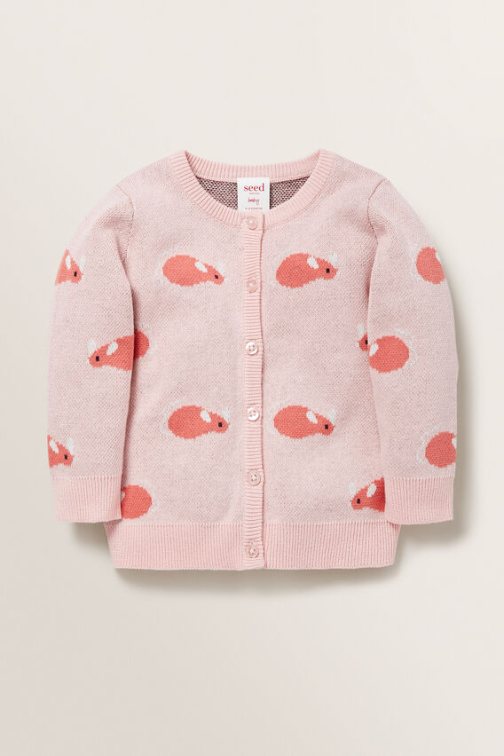 Mouse Cardigan  DUSTY ROSE  hi-res
