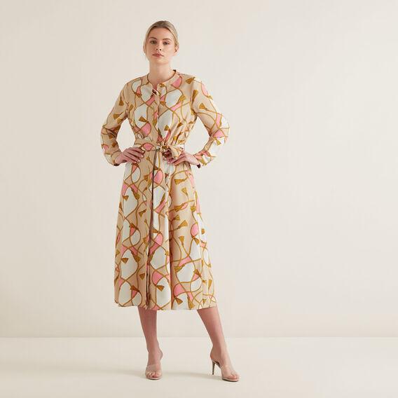 Scarf Print Dress  SCARF PRINT  hi-res