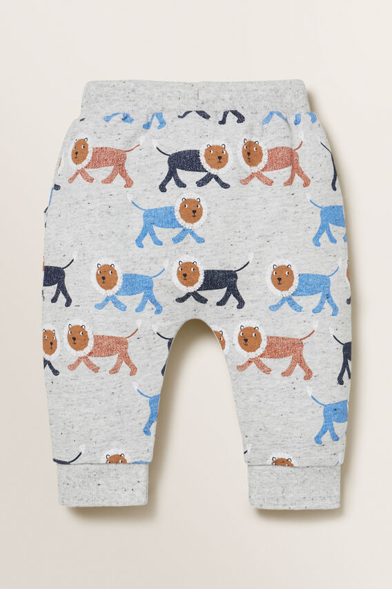 Lion Trackpant  CLOUDY MARLE  hi-res