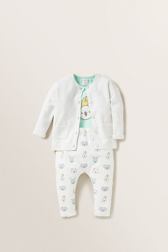 Cockatoo Bodysuit  COOL MINT  hi-res