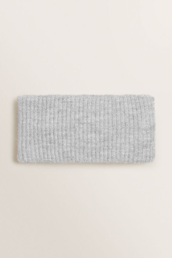 Rib Knit Turban  GREY MARLE  hi-res