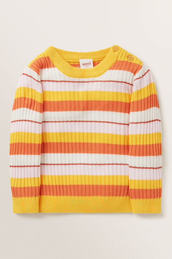 Ribbed Sweater  MULTI  hi-res