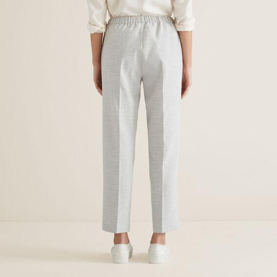 Slim Leg Drawcord Pant  LIGHT ASH MARLE  hi-res