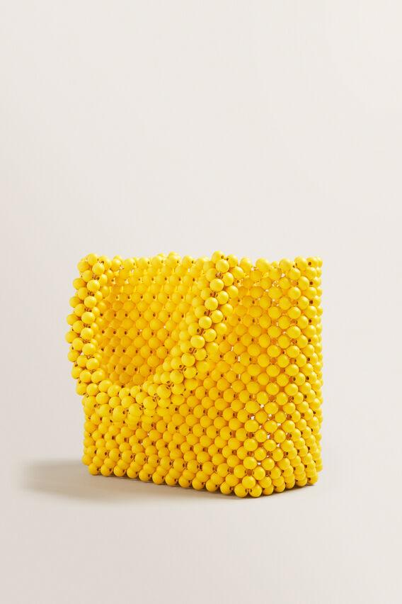 Mini Beaded Tote  GOLD RUSH  hi-res