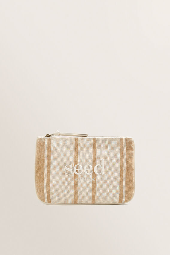 Seed Pouch  NATURAL STRIPE  hi-res