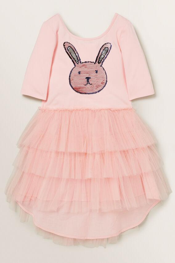 Bunny Tutu Dress  DUSTY ROSE  hi-res