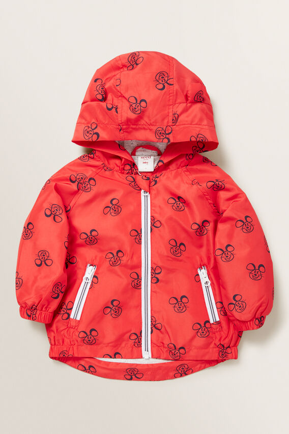 Mouse Spray Jacket  BERRY  hi-res