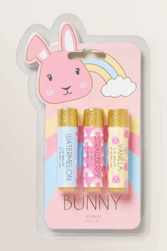 Bunny Lipbalm 3 Pack  MULTI  hi-res