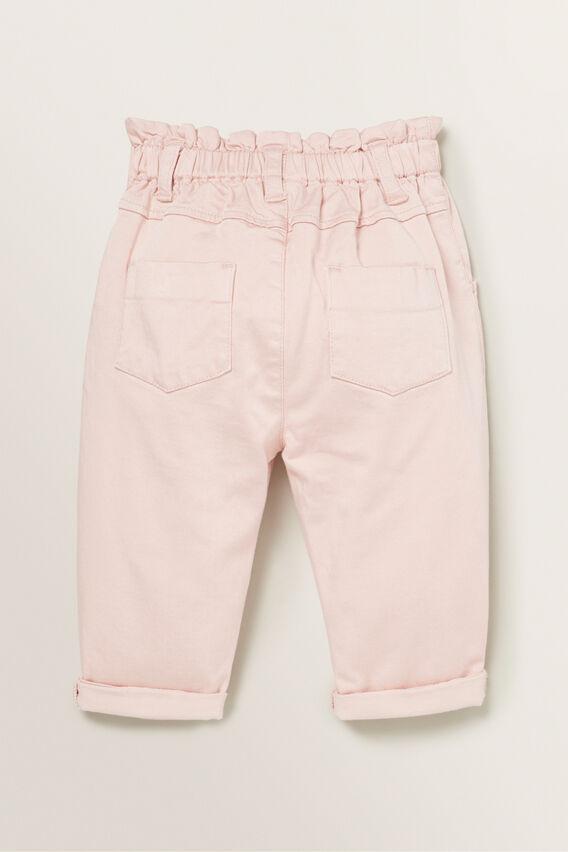 Paperbag Jeans  DUSTY ROSE  hi-res